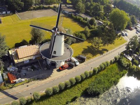 De molenaarswoning in Charlois