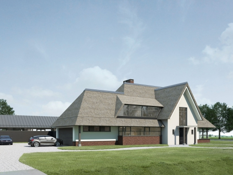 Ontwerp villa te Westvoorne