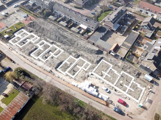 Start bouw 10 woningen te Nieuwenhoorn