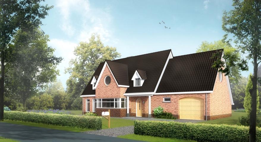 Nieuwbouw woonhuis te Oostvoorne
