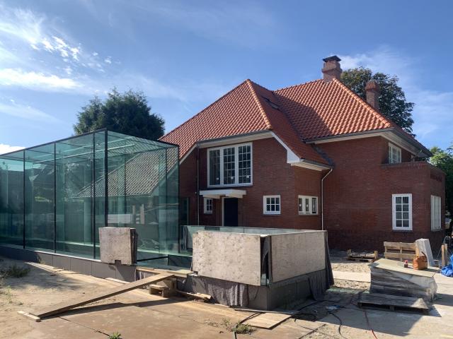 Bouwupdate renovatie villa