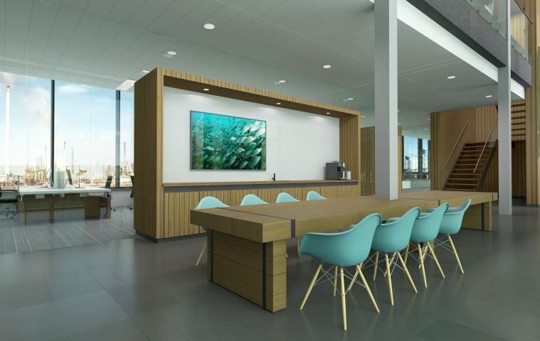 Interieurontwerp voor MarineCare in Rotterdam