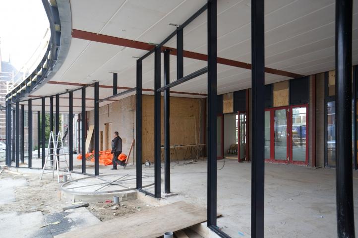 Een nieuwe entree voor het Cultuurhuis in Hellevoetsluis