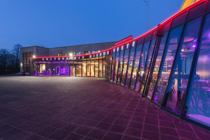 verbouwing Cultuurhuis Nieuwe Veste te Hellevoetsluis