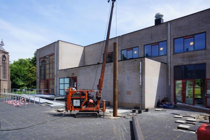 Start van de werkzaamheden voor het nieuwe Cultuurhuis in Hellevoetsluis