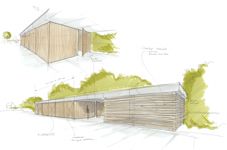 Een nieuwe opslagruimte voor jachthaven Blinckvliet
