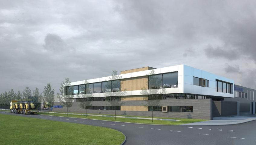 Nieuwbouw hoofdkantoor Havecon Kassenbouw