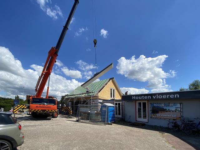 Een hoogste punt bij Van Son in Nieuwenhoorn