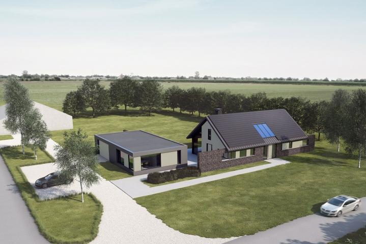 Bouwvergunning voor nieuwe polderwoning in Zuidland