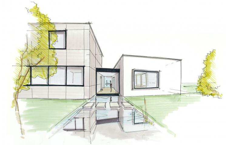 Facelift jaren '60 bungalow
