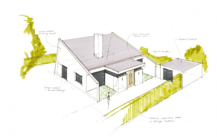 Verbouwing woonhuis Hellevoetsluis