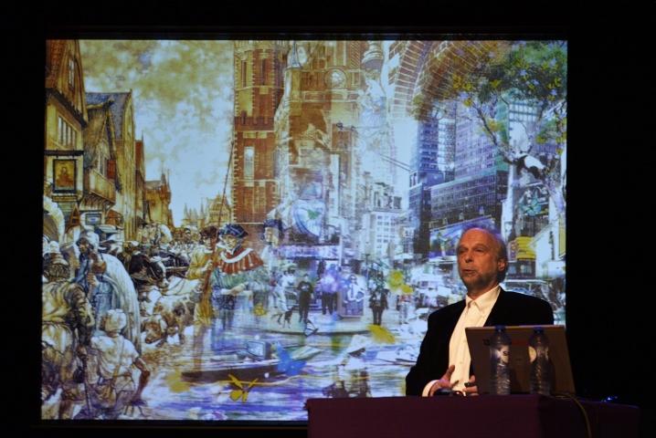 Architect Han de Kluijver vertelt over architectuur in Spijkenisse en omstreken.
