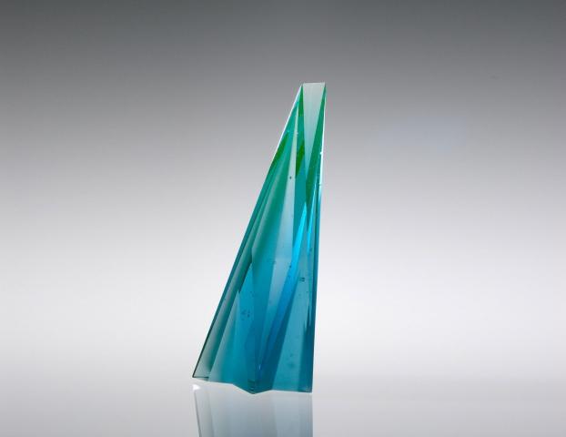 Glasobject Han de Kluijver voor winnaar Daylight Award 2016