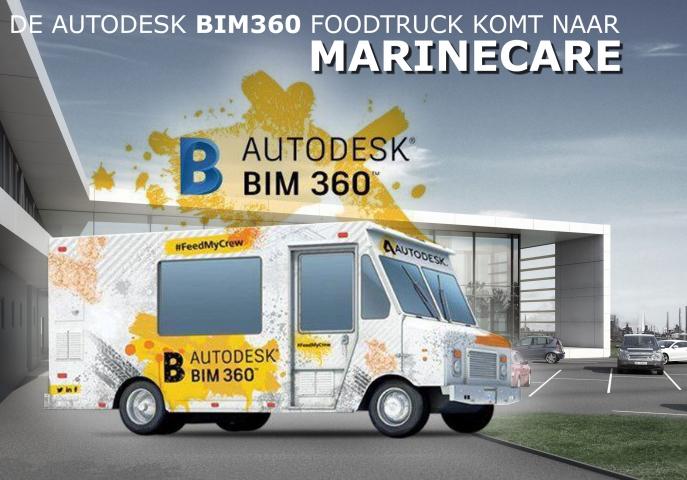 Winnaar - BIM360 Foodtruck bij Marine Care
