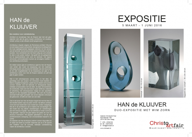 Expositie Han de Kluijver - ChrisArt Den Haag