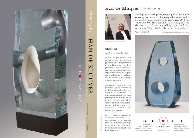 Han de Kluijver in Galerie Broft