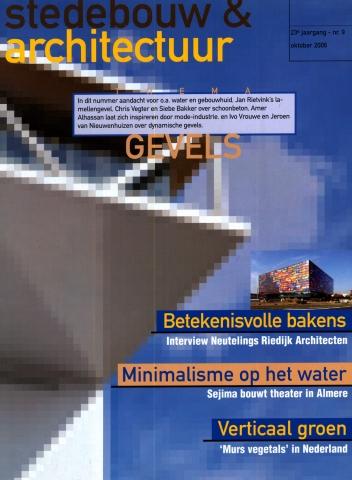 Stedebouw & architectuur oktober 2006