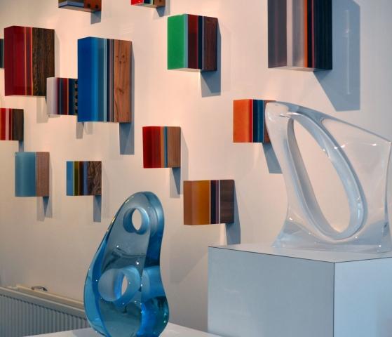 Opening expositie in galerie Broft